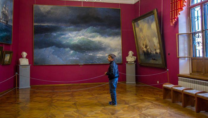 Крым галерея Айвазовского